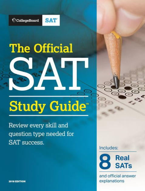 Official SAT Study Guide Textbook Cover